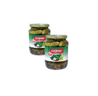 Огірки  мариновані  Вигода 880 г