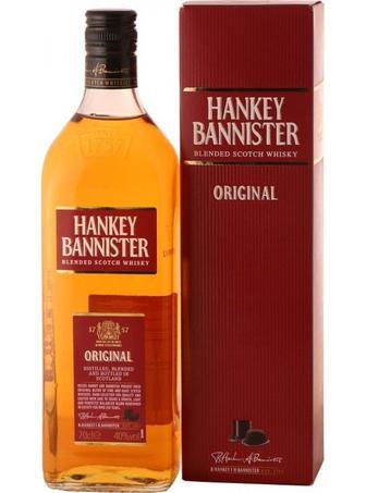 Віскі 40% Hankey Bannister Blend , 0,7 л