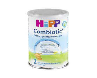 Суміш суха молочна, гіпоалергенна, HiPP Combiotic, 2, 350 г