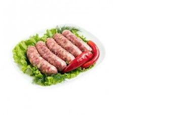 Колбаски для барбекю КЛАСС, весовые, 100г