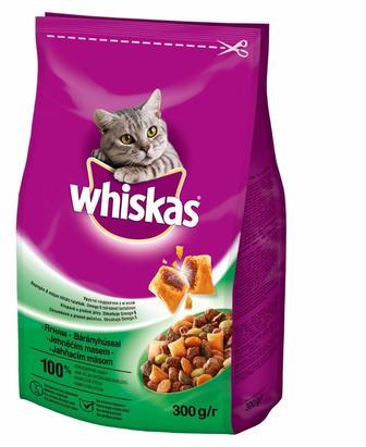 Корм Whiskas з ягням для дорослих котів, 300 г