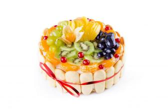 Торт Фруктовий букет