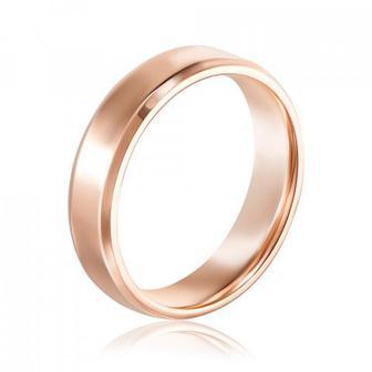 Обручальное кольцо классическое без вставки. Артикул 10177/01/0