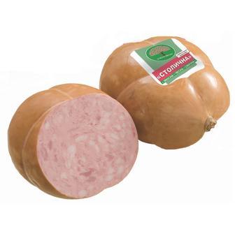 Колбаса вареная Столичная высший сорт 1кг