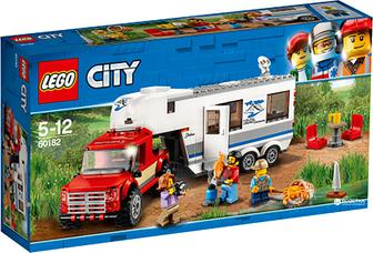 Конструктор LEGO City Пикап и фургон 344 детали
