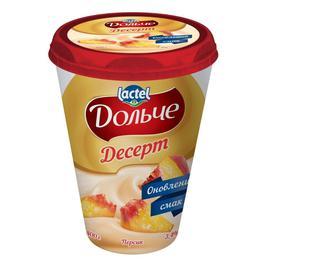 Десерт Дольче сирковий 3,4%, Lactel, 400г