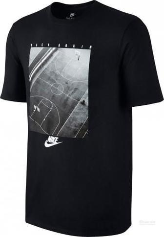 Футболка Nike NSW TEE PRESSN BK AGN 856932-010 XL чорний