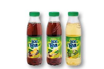 Холодний чай чорний, персик/ лимон/ саусеп Своя Лінія 0,5 л