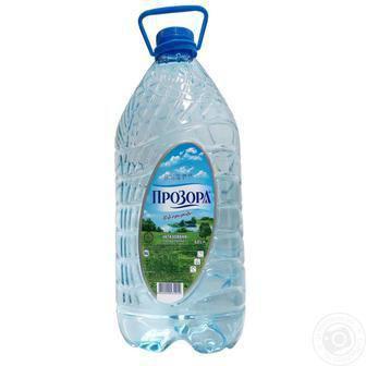Вода Прозора від природи питьевая негазированная 6л