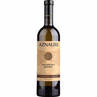 Вино Алазанська Долина червоне/біле напівсолодке Aznauri 0,75л