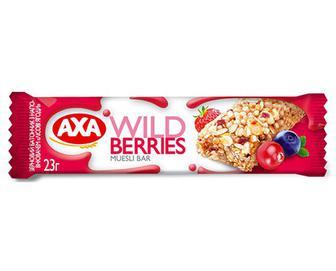 Батончик AXA зерновий «Лісові ягоди» 23г