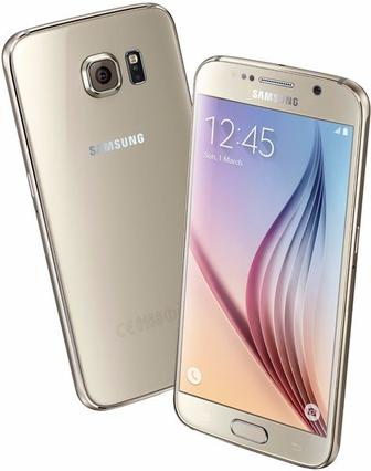 Смартфон Samsung Galaxy S6 Duos 64GB G920F Gold