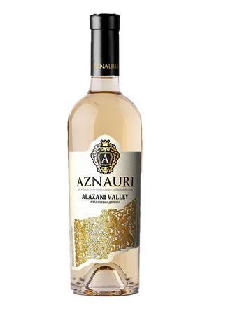 Вино Азнаурі Алазанська долина біле н/сол0,75л