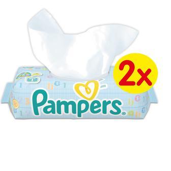 Серветки дитячі Pampers Baby Fresh Duo 2X64 зм.бл