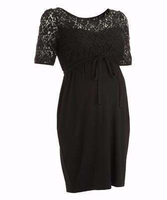 Чорна сукня з мереживом для матусь від Blooming Marvellous