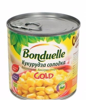 Скидка 23% ▷ Кукурудза Gold солодка з/б, 340г, Bonduelle