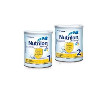Суха молочна суміш Nutrilon комфорт 1 400г,  Nutrilon комфорт 2 400г
