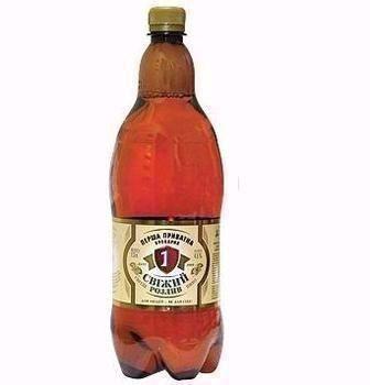 Пиво Свіжий розлив Перша приватна броварня 1,3 л