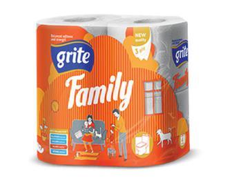 Папір туалетний Grite Family. 4 шт./уп.