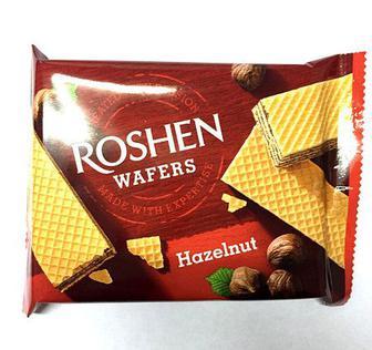 Вафли Рошен Wafers орех 72г