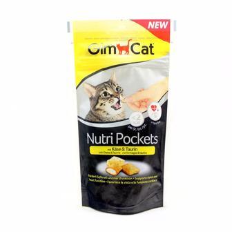 Ласощі для котів Nutri Pockets GimCat 60 г