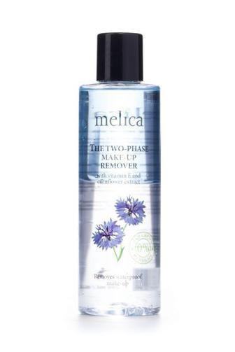 Средство Melica 2-Фазное для снятия макияжа с витамином Е и экстрактом василька 200 мл