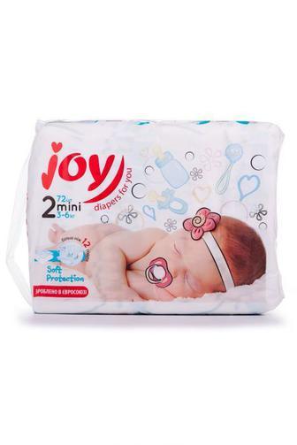 Подгузники Joy Soft Protection р2 3-6кг 72 шт