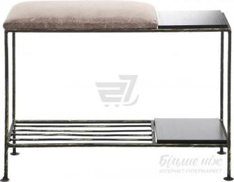 Підставка для взуття Метал Арт Смарт 200x650x450 мм чорний