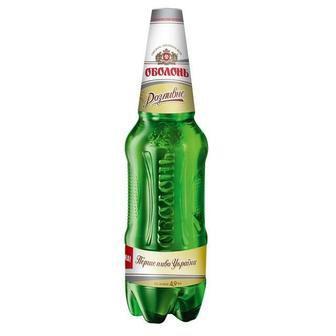 Пиво світле Оболонь 1.2 л