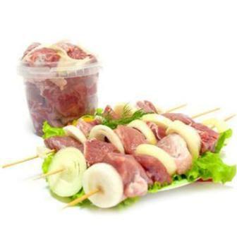 Шашлык маринованный зі свинини кг