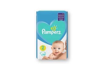 Підгузники Active Baby New Baby Mini, 66 шт. Pampers