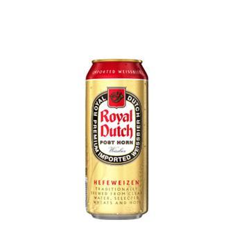 Пиво світле пшеничне нефільтроване Royal Dutch Post Horn 0,5л