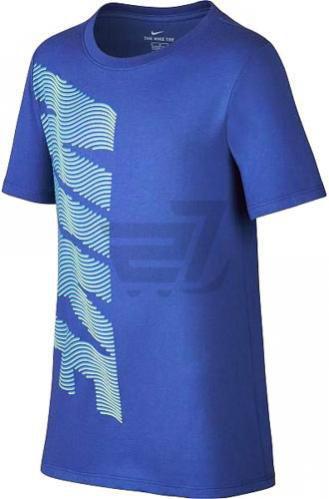 Футболка Nike B Nk Dry Tee Therma Nike 894257-480 M синій