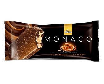 Морозиво «Три Ведмеді» Monaco карамель та кунжут, 80г