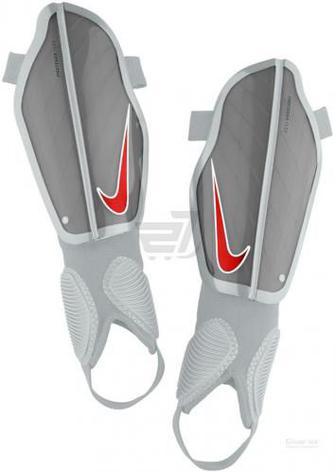 Щитки футбольні Nike Y NK CHRG GRD р. S сірий