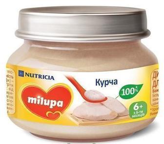 Пюре Milupa Цыпленок (с 6 месяцев) 80 г