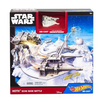 Игровой набор Hot Wheels Star Wars Битва за базу Ехо (CGN33/CGN34)