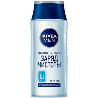 Шампунь Nivea Men Заряд чистоти 250мл