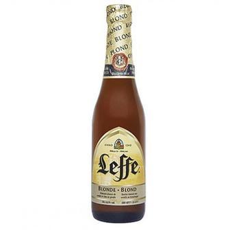 Скидка 21% ▷ Пиво Leffe Blonde 0.33 л