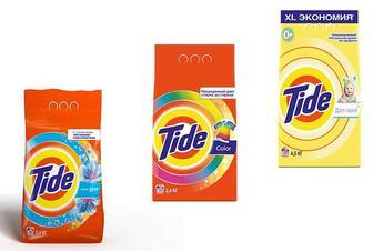 Засіб миючий синтетичний «Lenor touch»/«Color»/ дитячий , автомат порошок, Tіde 2.4 кг
