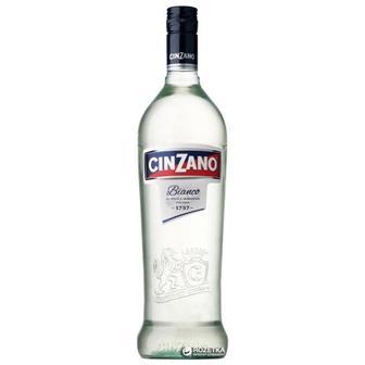 """Вермут Bianco 15%,  """"Cinzano"""", 1л"""