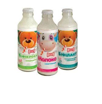 Дитяче харчування  Біфікроха, Біфілакт, молоко з лактулозою  Злагода, 200 г