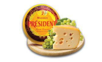 Сир Мааздам Франція Президент 100 г