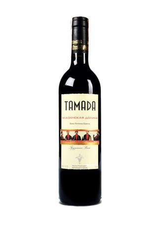 Вино Тамада Алазанська долина черв.н/сол0,75л