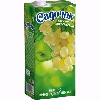 Нектар Яблоко-виноград, 0,95 л