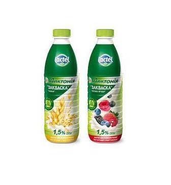 Закваска Лактонія злаки/лісова ягода 1,5% 870г