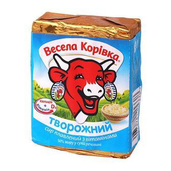 Сир плавлений Весела корівка 90г Творожний 55%