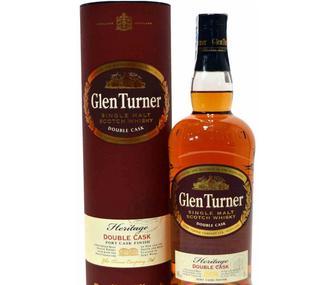Виски Глен Тернер Эритаж Дабл Каск , Glen Turner Heritage Double Cask, 40% 0.5л