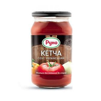 Скидка 25% ▷ Соус томатний Руна, Кетча українська, 485г