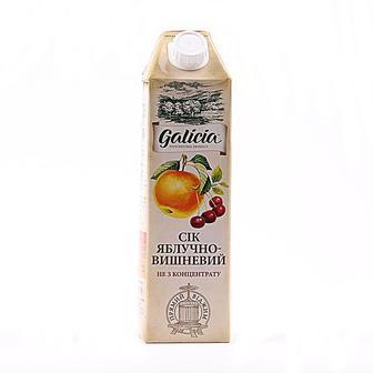 Сік Галіція яблучно-вишневий 1 л